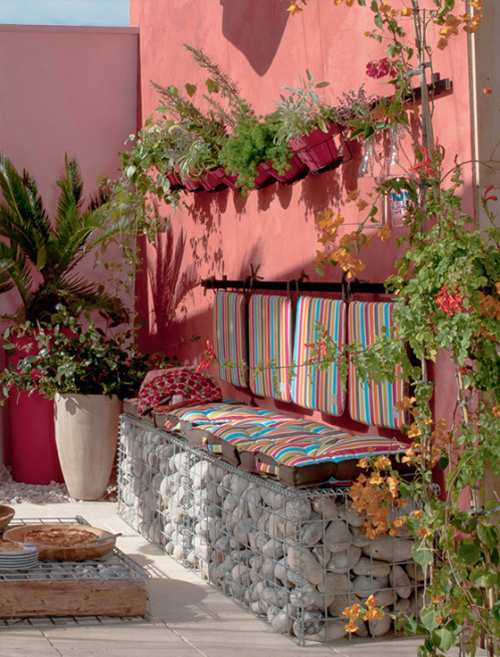 Colorida terraza con ideas de decoraci n decoracion in - Ideas decoracion terraza ...