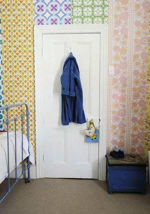 Papel para empapelar paredes empapelar una habitacin - Papel para paredes con gotele ...
