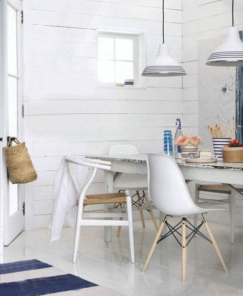 Comedores coloridos y con encanto decoracion in - Decoracion sillas comedor ...
