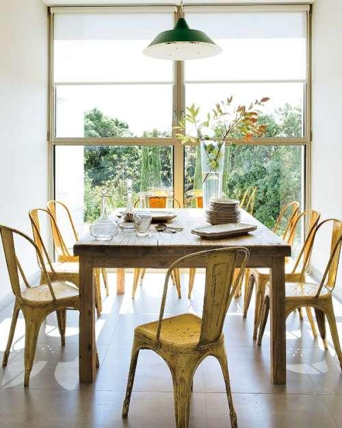 Casa moderna con toques de color decoracion in - Decoracion barroca moderna ...