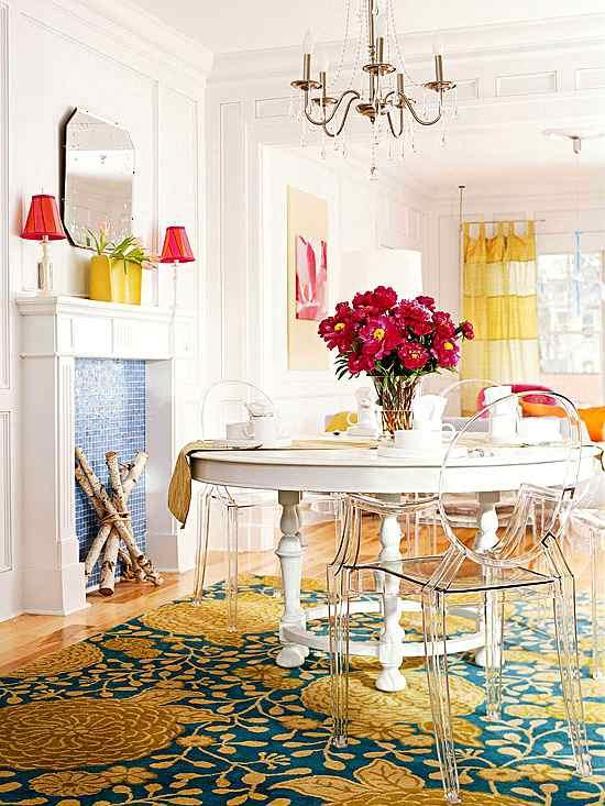 Ideas de muebles para espacios peque os decoracion in for Muebles para comedor pequeno