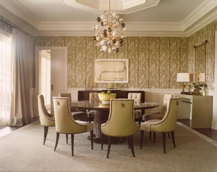 Comedores con candelabros o l mparas de ara a decoracion in for Comedores clasicos elegantes