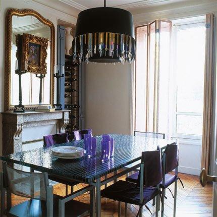 Comedores con candelabros o l mparas de ara a decoracion in - Comedores grandes ...