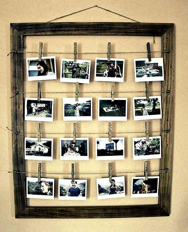 cómo colgar fotografías