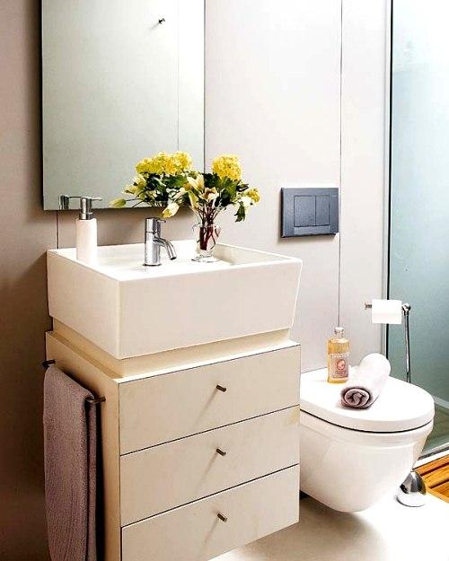 Ideas para cuartos de ba o peque os decoracion in - Decoracion cuarto de bano pequeno ...