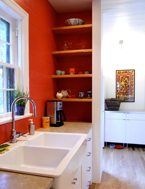C mo decorar la cocina con baldas y estantes decoracion in - Decorar con baldas ...