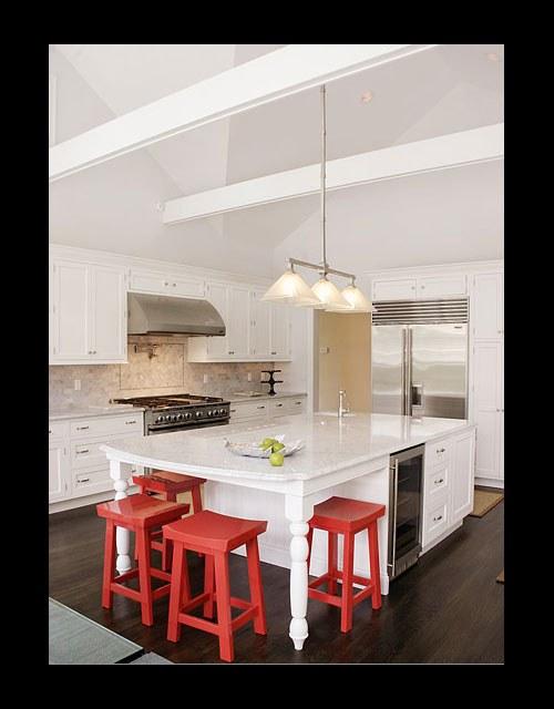 C mo decorar cocinas con colores vivos y alegres - Cocinas con colores vivos ...