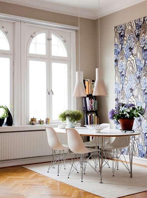 c mo decorar el comedor con mesas y sillas decoracion in On mezclar muebles clasicos y modernos
