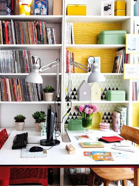 cómo decorar un espacio de trabajo