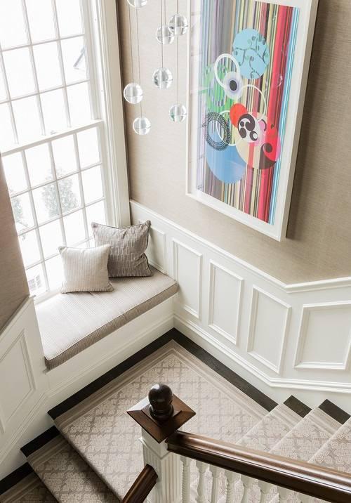 Apuesta fuerte al color en zonas de paso decoracion in - Ideas para apuestas ...