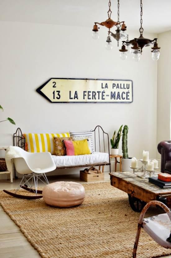 cómo decorar un salón con estilo