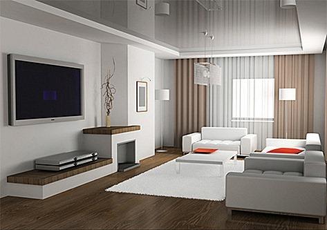 C mo elegir los muebles para un sal n minimalista - Muebles de salon de diseno minimalista ...