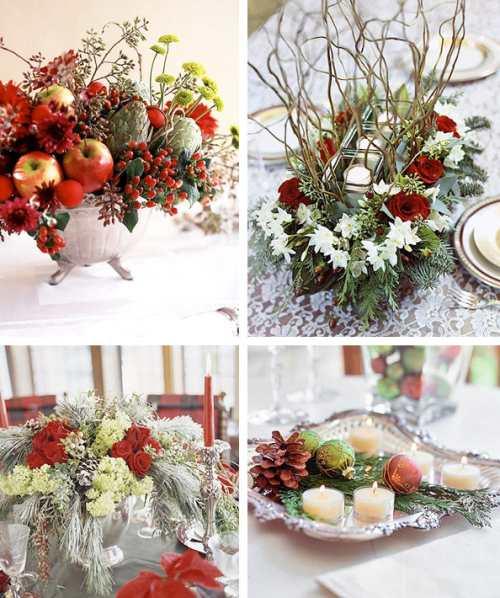 decorar la mesa de año nuevo