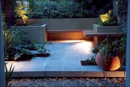 opciones de iluminaci n para el jard n o terraza