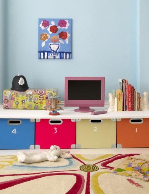 Organizar y decorar dormitorios infantiles decoracion in - Ordenar habitacion ninos ...