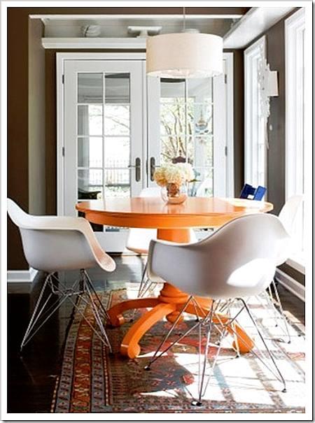 cómo renovar muebles en el comedor