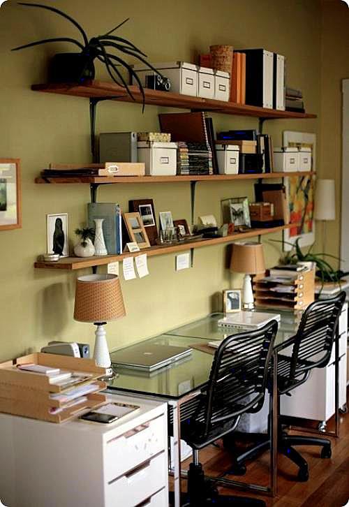 Consejos para crear oficinas en espacios peque os for Elementos para decorar una oficina