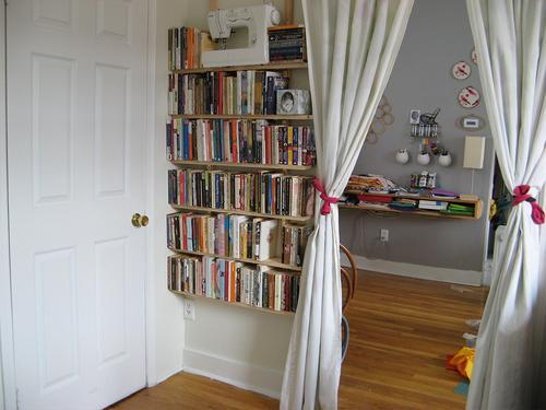 Crear nuevos espacios con cortinas decoracion in for Cortinas para pasillos