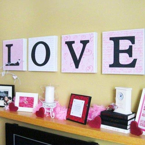 cuadros decorativos Love