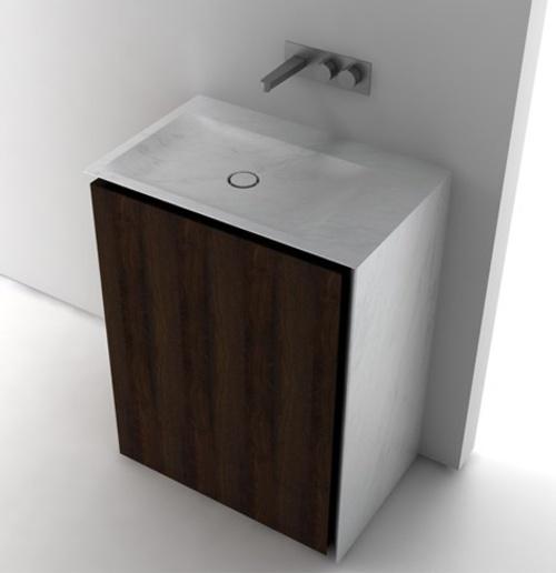 Baños Estilo Minimalista:Boffi Bathroom Sinks