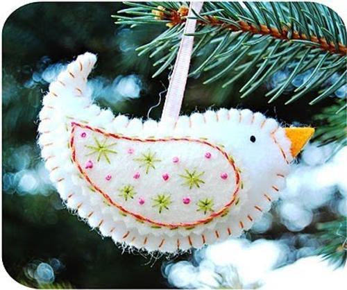 Decoraci n navidad adornos en fieltro y tela para el - Adornos de navidad de tela ...