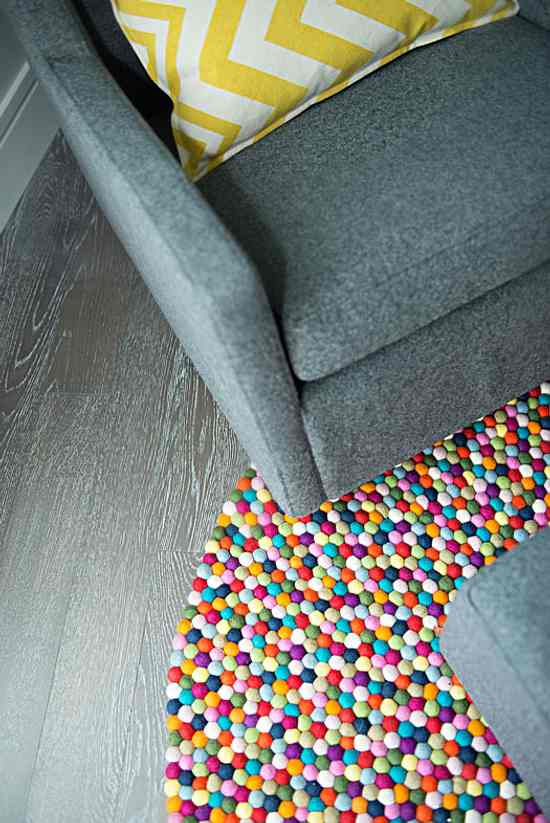 decora los ambientes con color