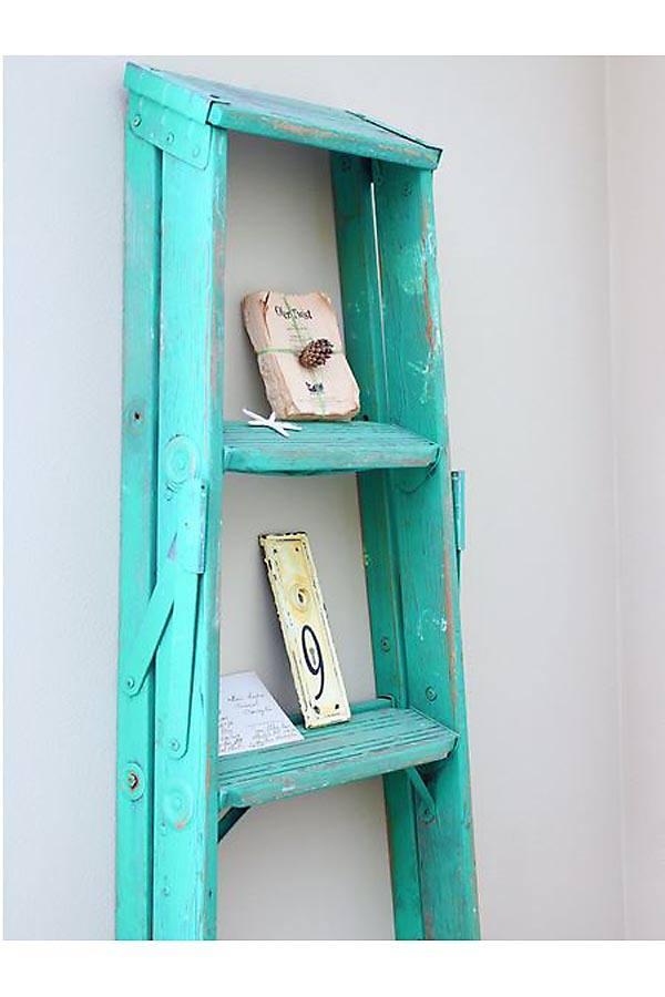 Usos decorativos para una escalera