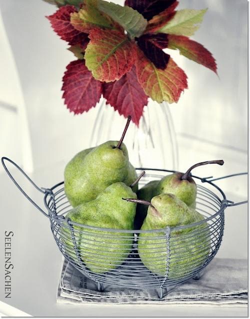 decora rincones con frutas