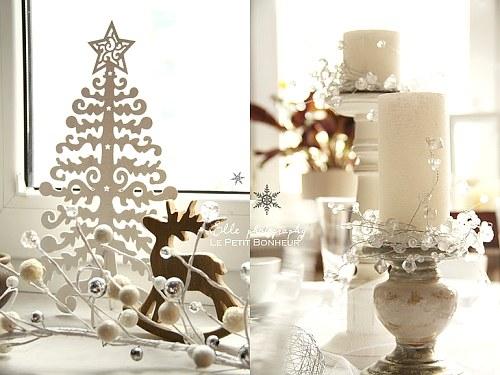 Decoraci n en blanco para navidad decoracion in - Arboles de navidad blanco decoracion ...