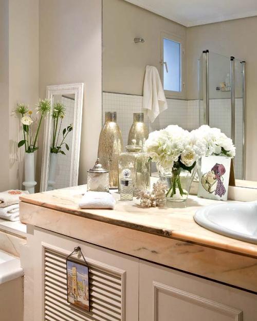 decoración del baño