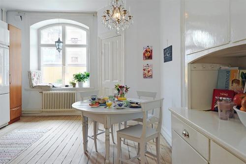 Decoraci n cocina comedor integrados y rom nticos for Cocina y lavadero integrados