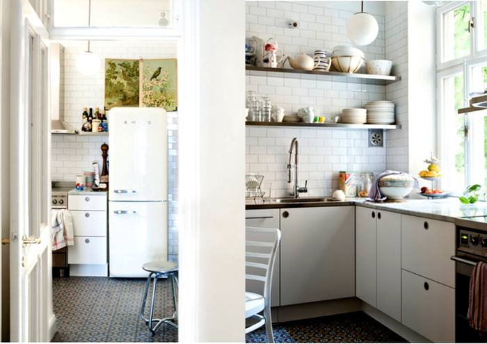 C mo ganar espacio en cocinas peque as decoracion in for Alacenas para cocinas pequenas