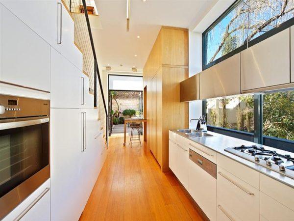 Decoraci n de cocinas modernas blancas decoracion in Fotos de cocinas blancas modernas