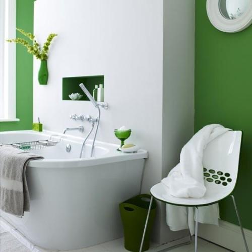 Decoracion Baños Colores:Decoración de Baños con Color – DecoracionIN