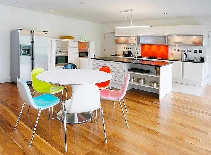 Cocina y sal n comedor integrados decoracion in for Cocina y lavadero integrados
