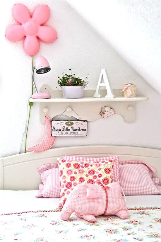 decoración de un dormitorio de niñas