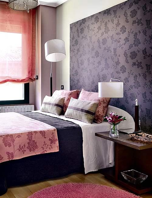 Decorar con color el dormitorio decoracion in - Visillos para dormitorios ...