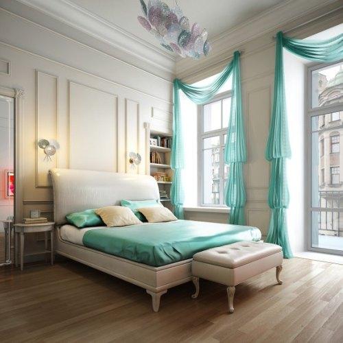 Registro de Viviendas y Despachos [Opcional] Decoracion-dormitorios-elegancia-turquesa-tonos-neutros