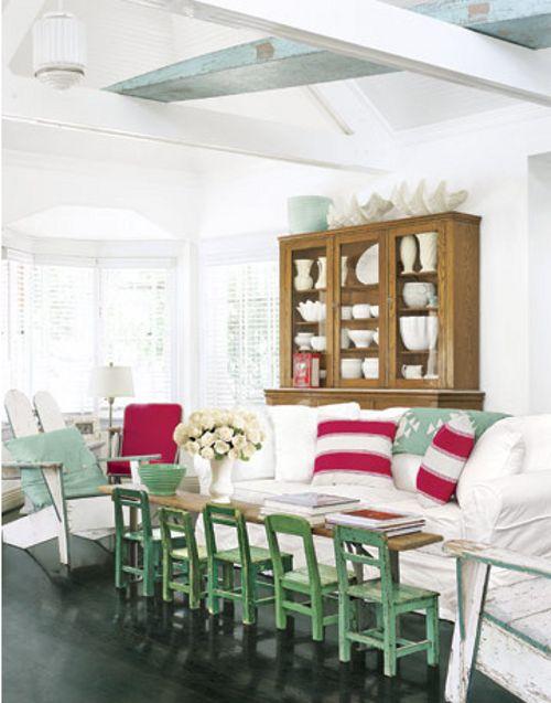 combinar colores en interiores