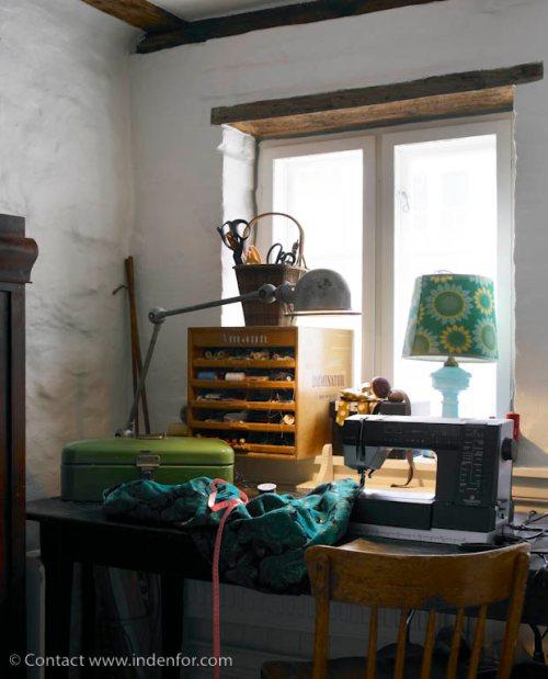 Decoraci n espacios de trabajo costura en casa Decoracion de espacios de trabajo