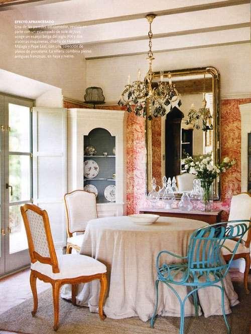 Decoraci n estilo vintage para comedores decoracion in for Estilo vintage decoracion