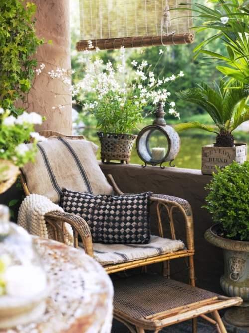 Casa de campo con aire vintage decoracion in for Decoracion exterior de casas