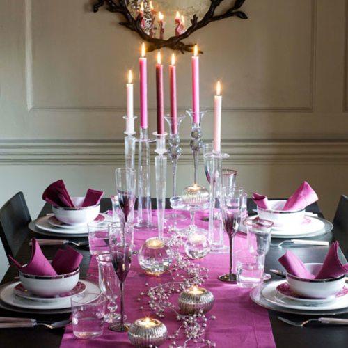 Decoración de Mesas en Navidad - Decoracion.IN