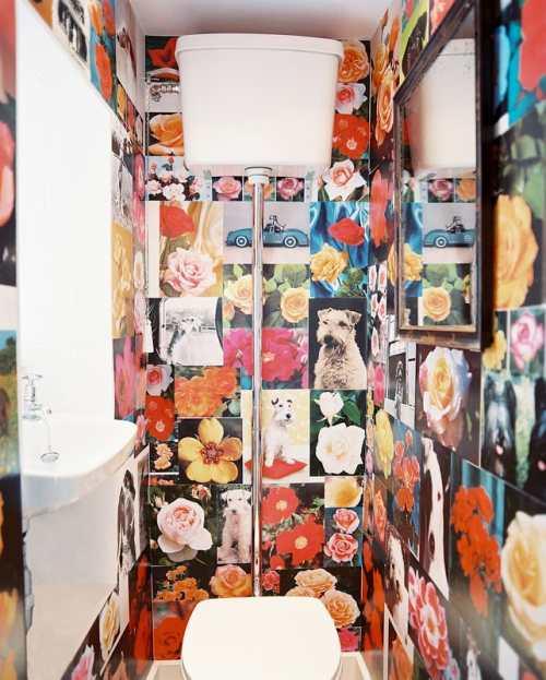 Decoración En Baños Originales:Decoración con Papel Pintado para Baños Pequeños – DecoracionIN