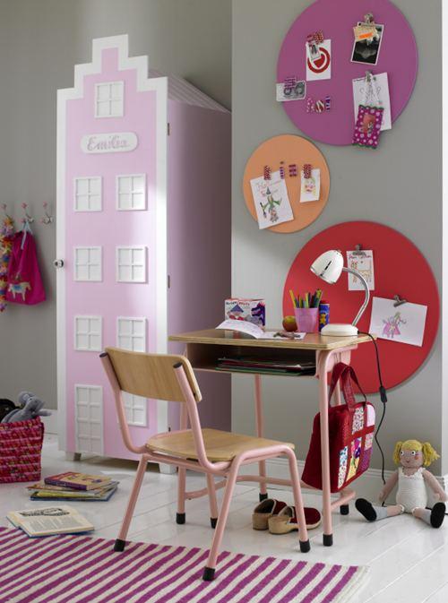 Decoraci n de paredes en dormitorios infantiles - Decoracion de paredes de dormitorios ...