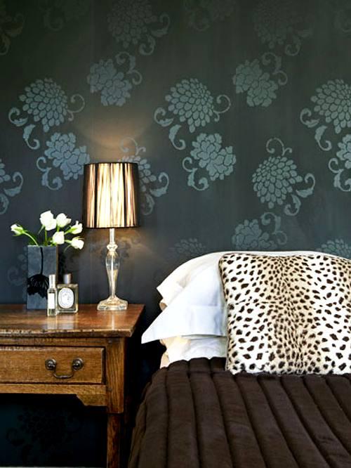 decoración de paredes empapeladas