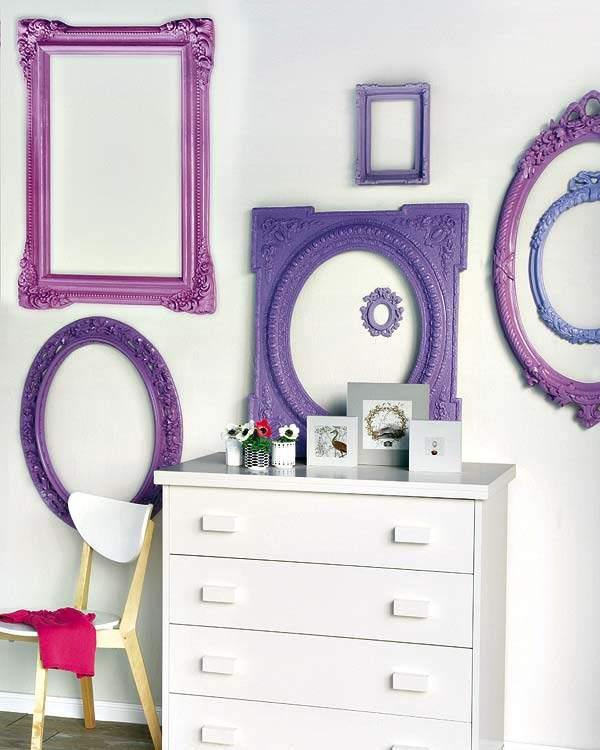 Decora tus paredes marcos y color decoracion in for Decoracion de marcos para fotos