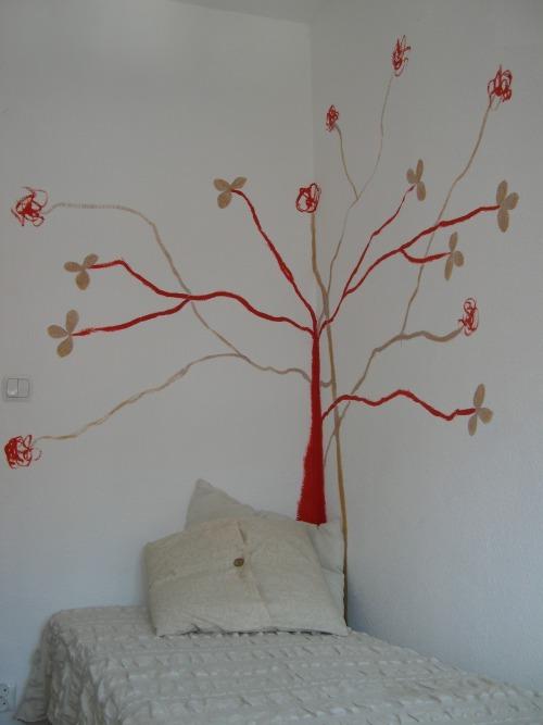Decoraci n de paredes con pinturas vegetales decoracion in - Pinturas para decorar paredes ...