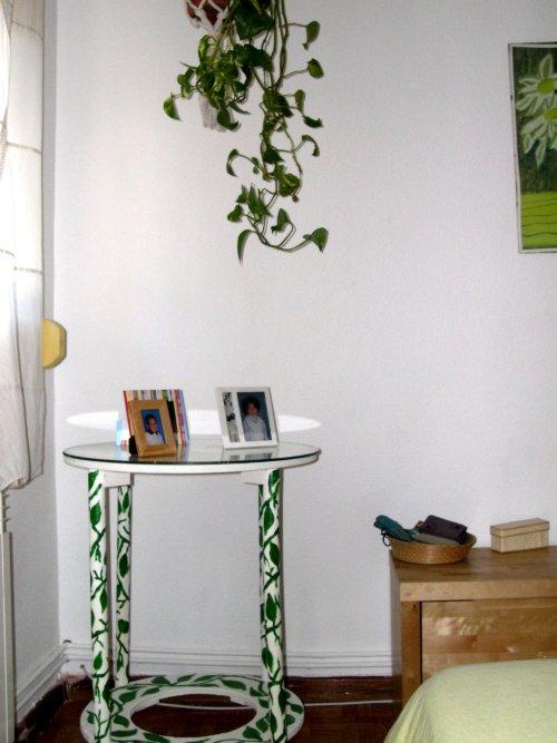 decoración de paredes con pinturas vegetales decoracion in