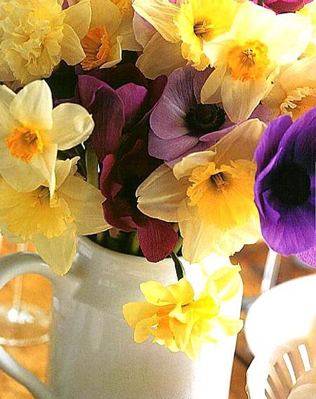 decoración en primavera